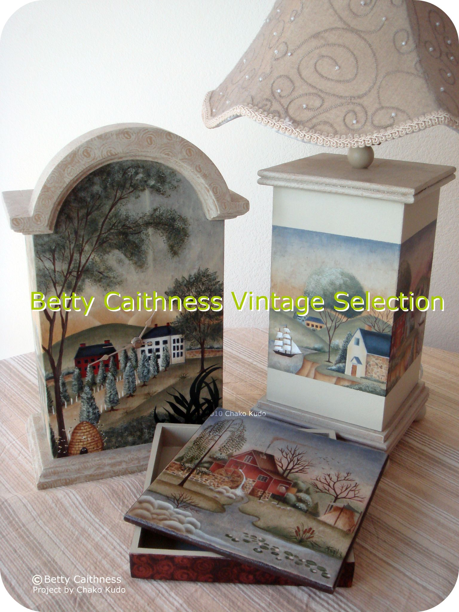 Betty Caithness  3 projects