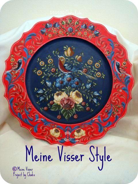 Meine Visser Style 12inch plate