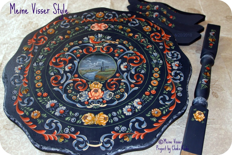Meine Visser Style / Large Round Table 20inch