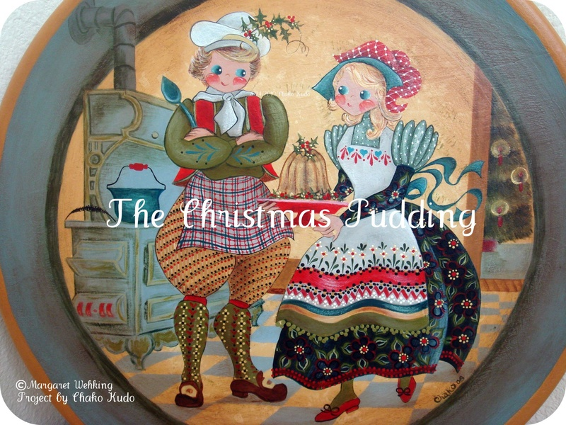 The Christmas Pudding (Christmas Plate #5)
